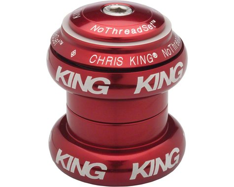 "Chris King NoThreadSet Bold Headset (Red) (1-1/8"")"