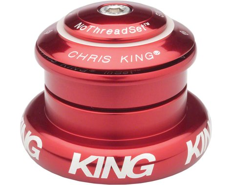 "Chris King InSet 7 Headset (Red) (1-1/8 to 1.5"") (ZS44/28.6) (EC44/40)"