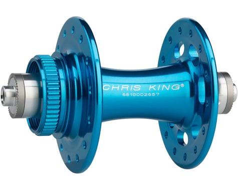 Chris King R45D 9mm QR Front Disc Hub (Turquoise) (28 Hole) (Centerlock)