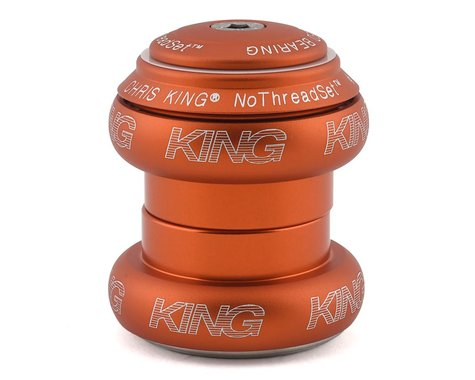 "Chris King NoThreadSet Headset (Matte Mango) (1-1/8"") (EC34/28.6) (EC34/30)"