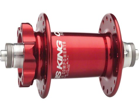 Chris King ISO QR Front Disc Hub (Red) (32 Hole)