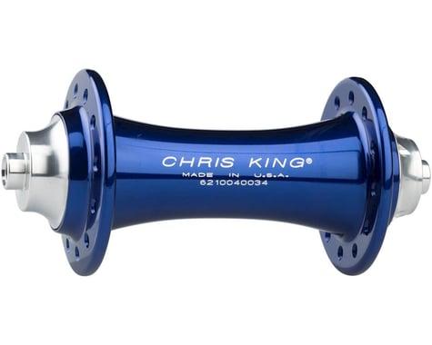 Chris King R45 QR Front Hub (Navy) (24 Hole)