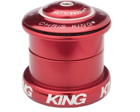 """Chris King InSet 5 Headset (Red) (1-1/8-1.5"""") (49mm)"""