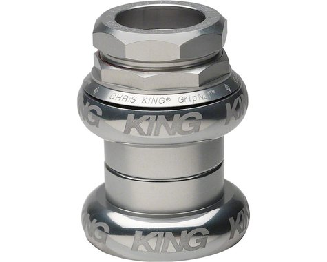 "Chris King GripNut Sotto Voce 1"" Headset (Silver)"