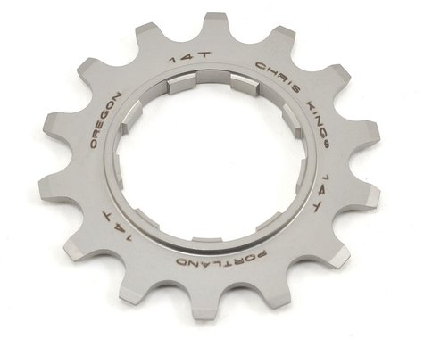 Chris King Stainless Single Speed Cog (14T)