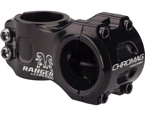 Chromag Ranger V2 Stem (Black) (31.8mm Clamp) (50mm) (0°)