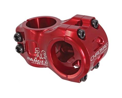 Chromag Chromag, Ranger V2, Stem, 1-1/8'', L: 50mm, 0°, Dia: 31.8mm, Red