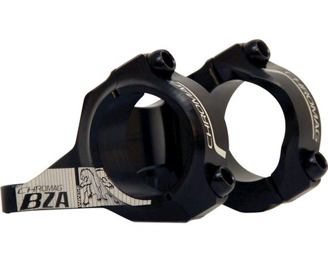Chromag BZA Stem (Black) (35.0mm Clamp) (Direct Mount) (50mm Length)