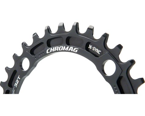 Chromag Sequence X-Sync Chainring (104mm BCD) (Ai Offset) (34T)