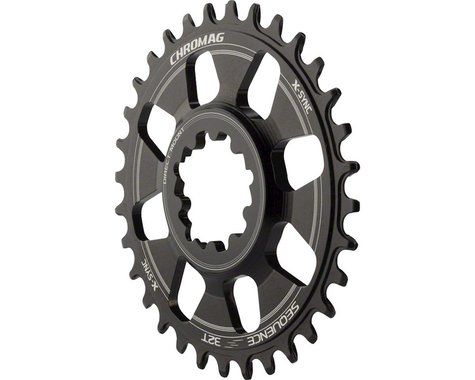 Chromag Sequence X-Sync Direct Mount GXP Chainring (6mm Offset) (32T)