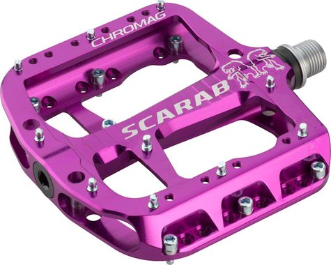 "Chromag Scarab Platform Pedals (Purple) (9/16"")"
