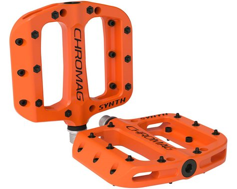 Chromag Synth Composite Platform Pedals (Orange)