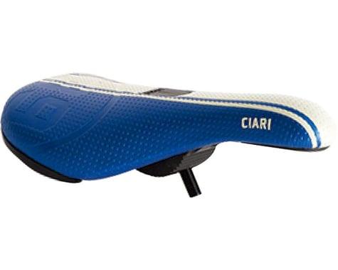 Ciari Corsa 39 Due Expert BMX Seat - Pivotal, Blue/White