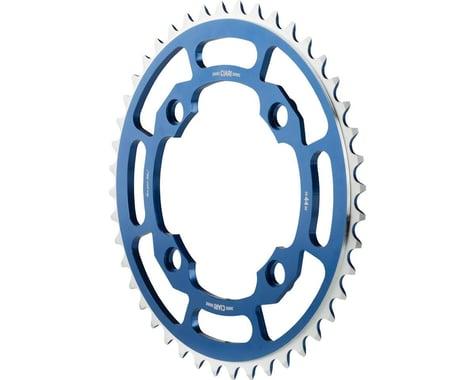 Ciari Corona 4 Bolt 7075 T6 Aluminum Chainring (Blue) (104mm BCD) (44T)