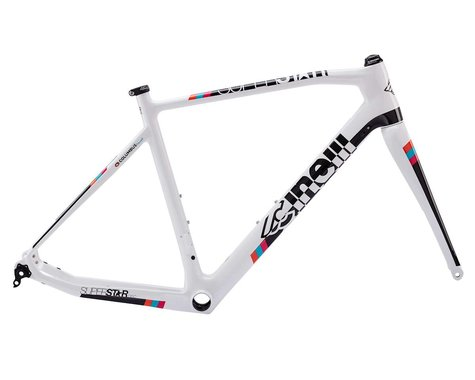 Cinelli Superstar Carbon Disc Frameset (White)
