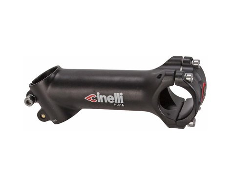 Cinelli Pista Alloy Track Stem (Black) (31.8mm) (80mm) (25°)