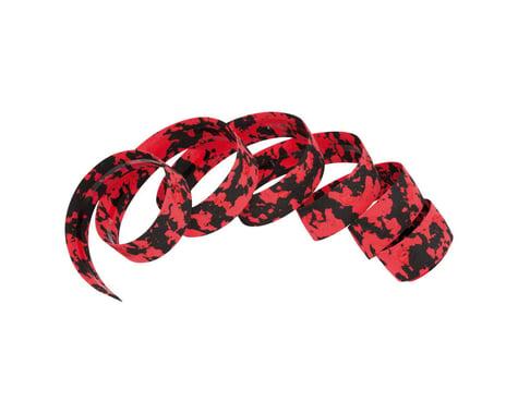 Cinelli Macro Splash Ribbon Handlebar Tape (Black/Red)