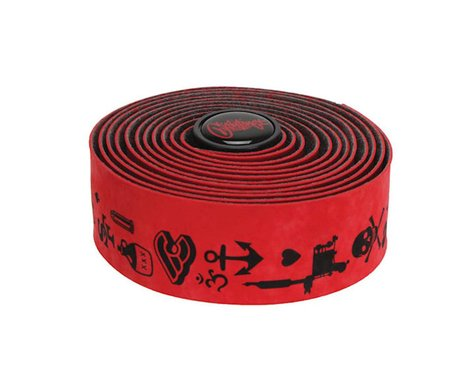 Cinelli Mike Giant Velvet Bar Tape (Red)