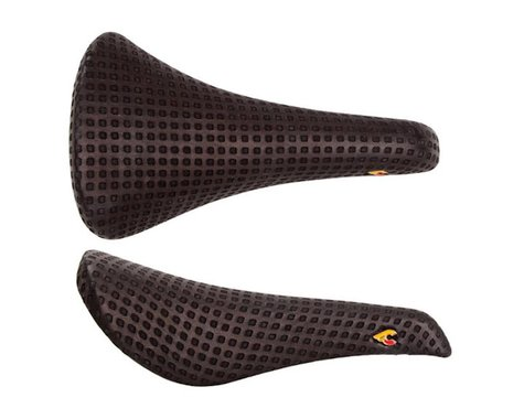 Cinelli Volare x San Marco Saddle (Black) (Chromoly Rails) (141mm)