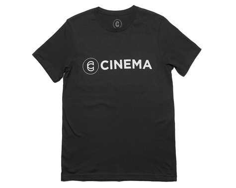 Cinema Crackle T-Shirt (Vintage Black) (L)