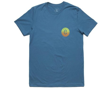 Cinema Radial T-Shirt (Deep Teal) (XL)