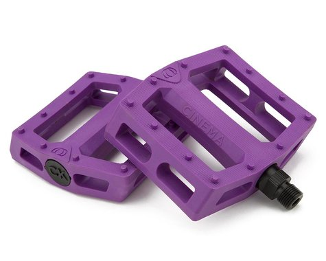 "Cinema CK PC Pedals (Chad Kerley) (Purple) (9/16"")"