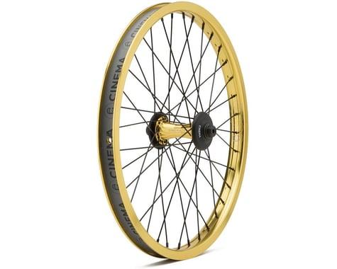 Cinema ZX Front Wheel (Gold) (20 x 1.75)