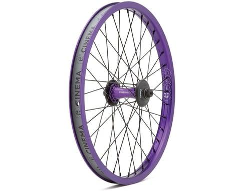 """Cinema ZX Front Wheel (Purple) (20 x 1.75"""")"""