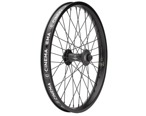 Cinema FX 888 Front Wheel (Matte Black) (20 x 1.75)