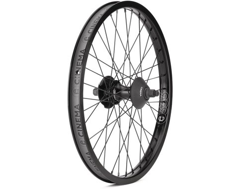 "Cinema ZX Cassette Wheel (Black) (Left Hand Drive) (20 x 1.75"")"