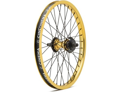 "Cinema ZX Cassette Wheel (Gold) (20 x 1.75"")"
