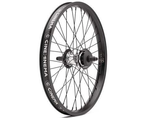 Cinema FX2 888 Freecoaster Wheel (RHD) (Polished/Black) (20 x 1.75)
