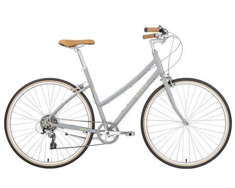 Civia Lowry Step Thru Bike (Gray/Yellow)