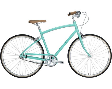 Civia Lowry 1-Speed Step-Over Bike (Mint Green/Teal)