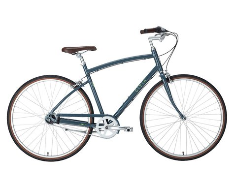 Civia Lowry 8-Speed Step-Over Aluminum Bike (Grey/Lime Green) (L)