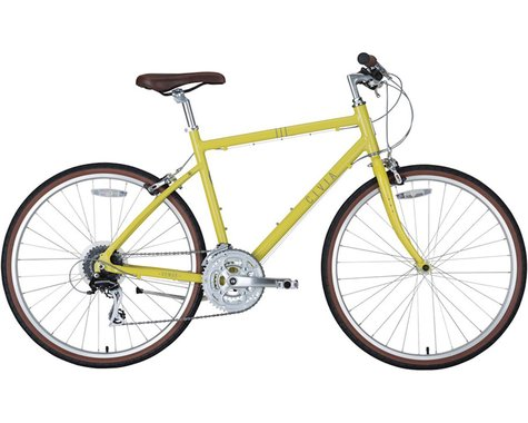 Civia Venue 24-Speed Bike (Mustard Yellow)