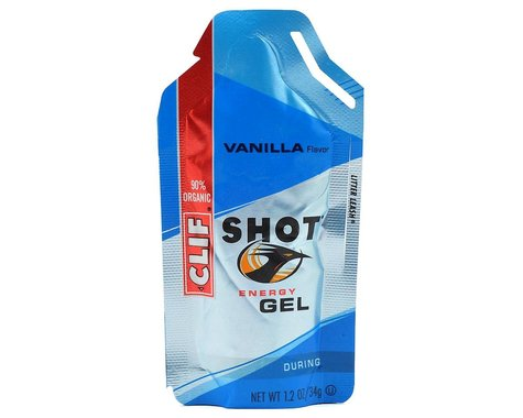 Clif Bar Shot Energy Gel (Vanilla) (24 1.2oz Packets)