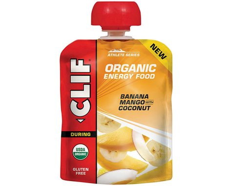 Clif Organic Energy Food: Sweet Banana Mango Coconut, Box of 6