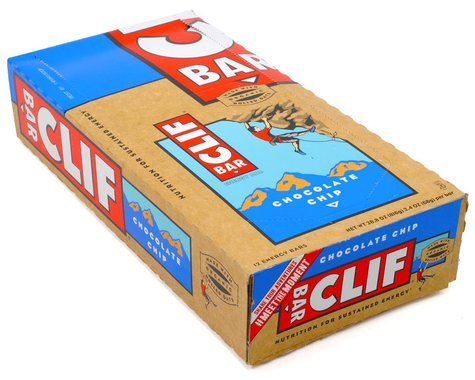 Clif Bar Original (Chocolate Chip) (12) (12 2.4oz Packets)