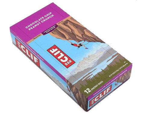 Clif Bar Original (Chocolate Chip Peanut Crunch) (12) (12 2.4oz Packets)