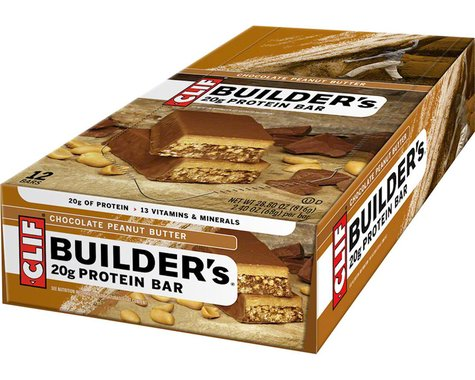 Clif Bar Builder's Bar (Chocolate Peanut Butter) (12) (12 2.4oz Packets)