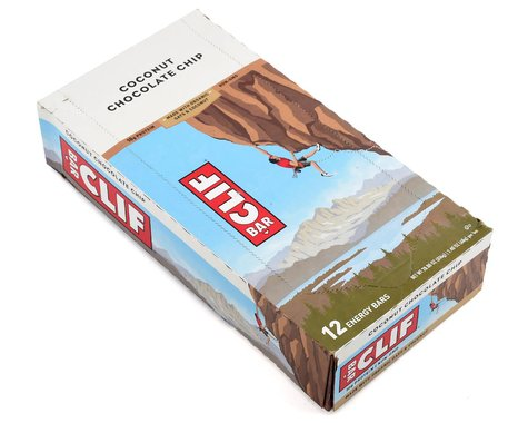 Clif Bar Original (Coconut Chocolate Chip) (12) (12 2.4oz Packets)