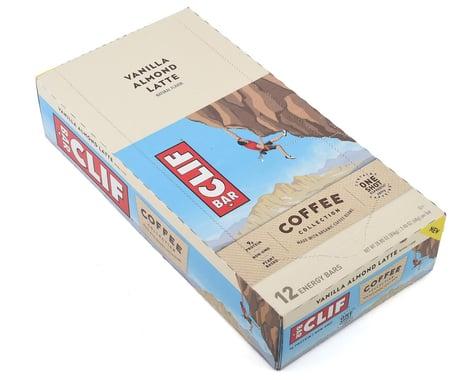 Clif Bar Vanilla Almond Latte Coffee Bar (Box of 12)