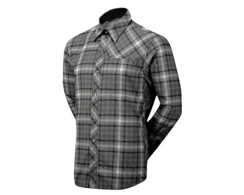 Club Ride Apparel Jack Flannel Long Sleeve Jersey (Black/White)