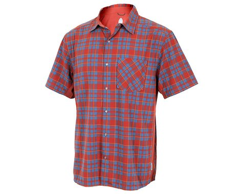 Club Ride Apparel Detour Short Sleeve Shirt (Rust)