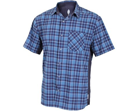Club Ride Apparel Detour Short Sleeve Shirt (Steel Blue)