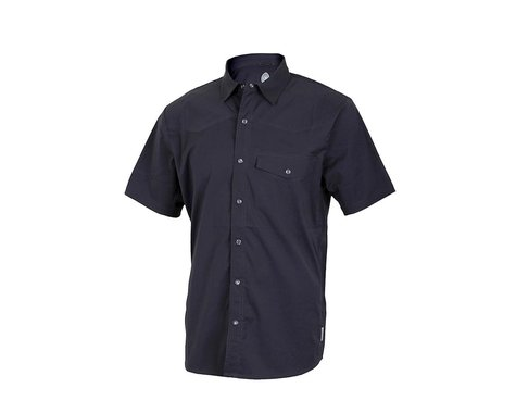 Club Ride Apparel Mag 7 Short Sleeve Shirt (Black) (L)