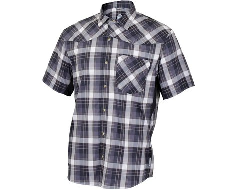 Club Ride Apparel New West Short Sleeve Shirt (Black) (XL)
