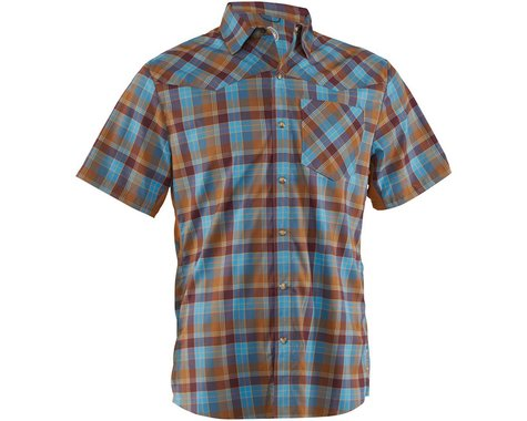Club Ride Apparel New West Short Sleeve Shirt (Desert) (L)
