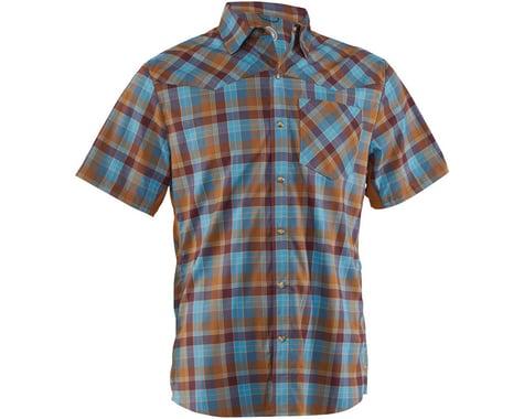 Club Ride Apparel New West Short Sleeve Shirt (Desert) (M)